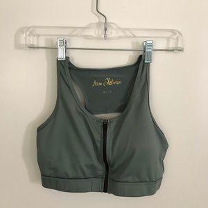 Sam Edelman Intimates & Sleepwear - Sam Edelman front zip sports bra